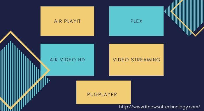 Streaming movies on iPad