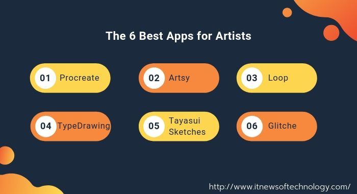 6 best apps for Artist