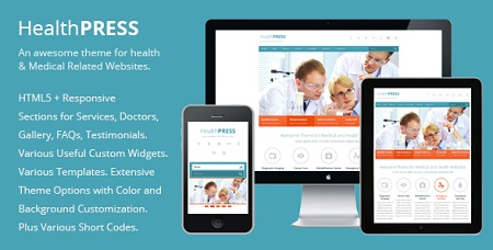 Dietitian Professionals Responsive WordPress Theme