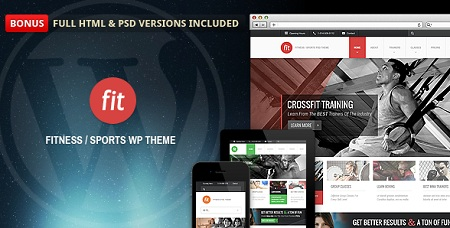 Health Gym & Physiotherapy Responsive WordPress Theme