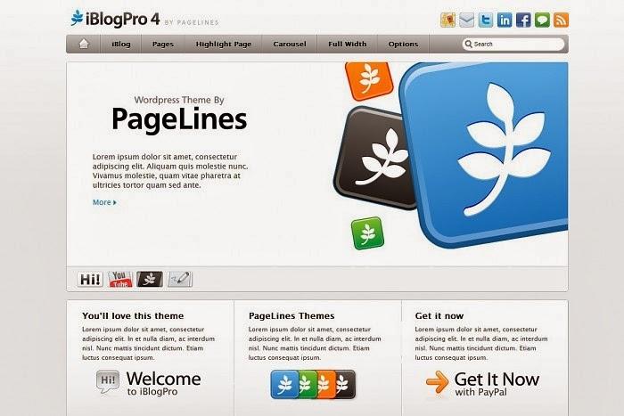 iBlogPro 4 wordpress theme
