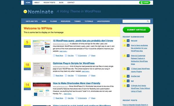 nominate-wordpress-theme