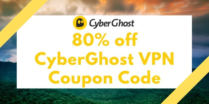 80% off CyberGhost Coupon Code, Promo Codes 2020
