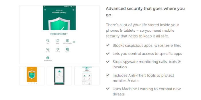 Kaspersky Mobile Antivirus Review 2020