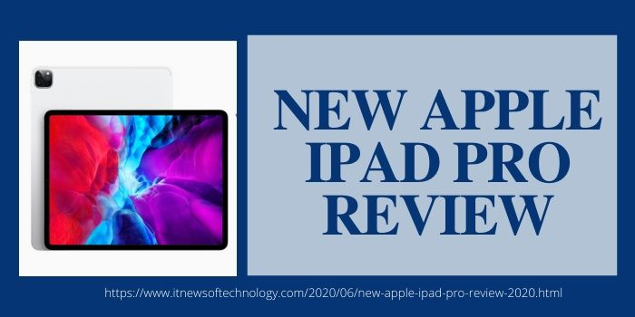 NEW APPLE IPAD PRO 2020 REVIEW