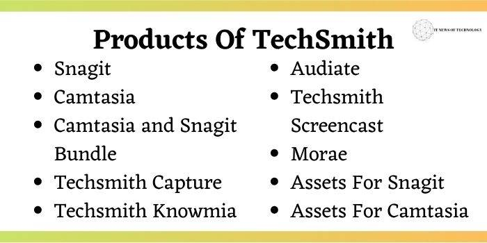 Techsmith Products Coupon Code